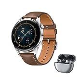 HUAWEI WATCH 3 - 4G Smartwatch, 1.43'' AMOLED Display, eSIM Telefonie, 3 Tage Akkulaufzeit, 30...