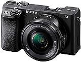 Sony Alpha 6400   APS-C Spiegellose Kamera mit Sony 16-50mm f/3.5-5.6 Power-Zoom-Objektiv (...