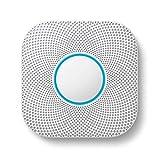 Google Nest Protect, Weiß. Der Rauchmelder, der spricht und dein Smartphone benachrichtigt.
