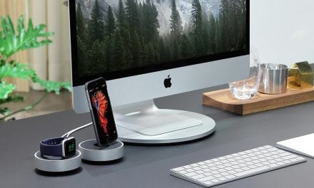 Review: Just Mobile HoverDock – Lightning-Dock mit praktischer Kabelaufwicklung