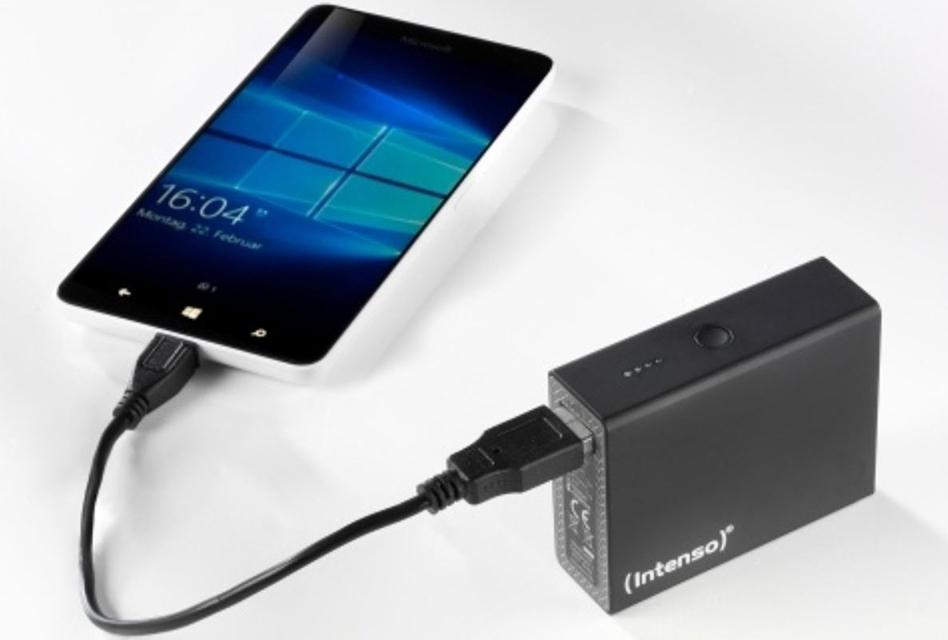 Review: Die kleine Intenso Powerbank ST6600 mit geringem Gewicht