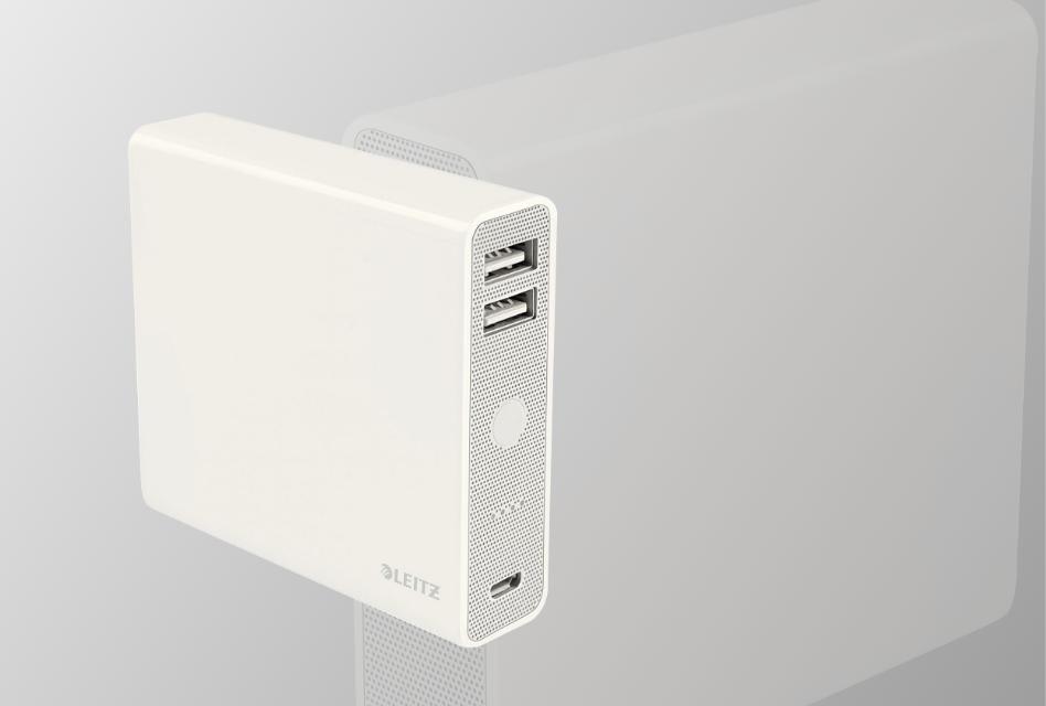 Review: Leitz Complete USB-Powerbank 12000 mit Hochglanzdesign