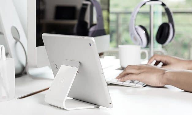 Review: BlueLounge Mika – Universeller Tablet-Stand aus Aluminium mit modernem Design
