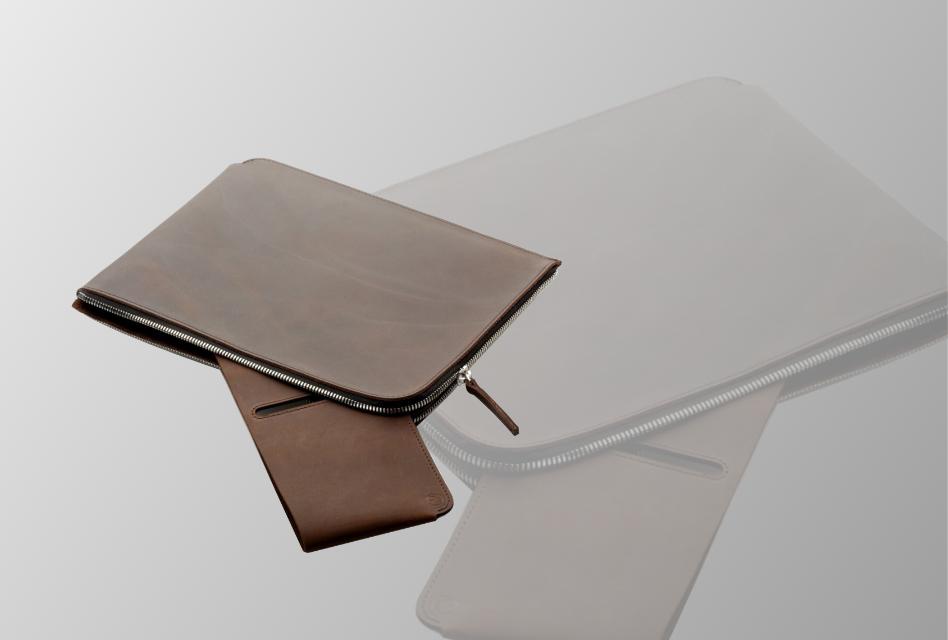 Review: germanmade. ZIP-Hülle – Handgearbeitete Ledertasche für das iPad mit viel Platz