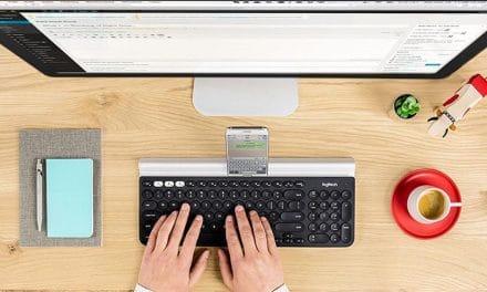 Review: Logitech K780 Multi-Device-Tastatur mit Halterung für Smartphone & Tablet