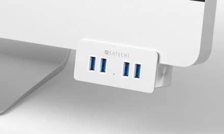Review: Satechi Aluminium Clamp Hub für den iMac