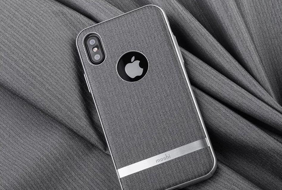 Review: Moshi Vesta – Elegantes Case für das iPhone X/XS mit Sturzschutz