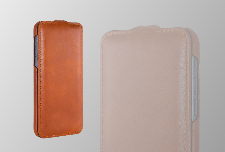 Review: StilGut Ultraslim – iPhone X/XS Klapp-Case aus Leder mit zeitlosem Design