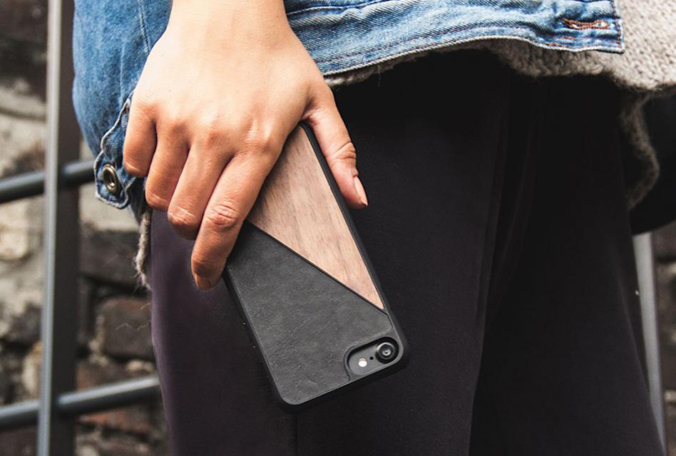 Review: Woodcessories EcoSplit – Elegantes iPhone X/XS-Case aus Holz & Leder