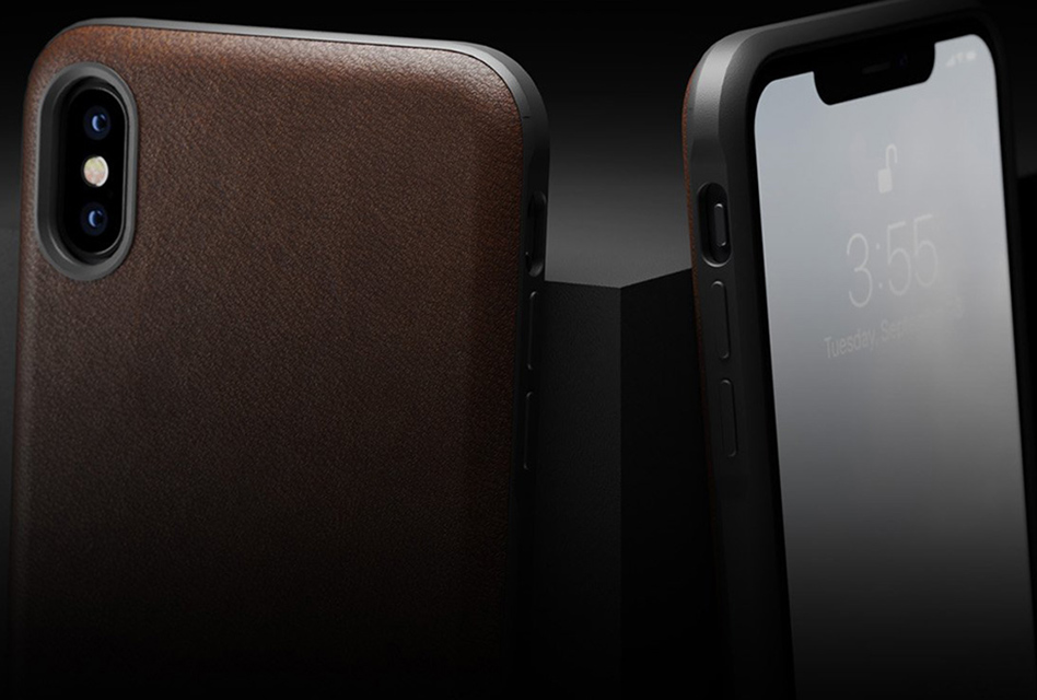 Review: Nomad Rugged Case – Robustes Back-Cover für das iPhone X/XS mit Echtleder