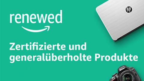 Zertifizierte und generalüberholte Produkte auf Amazon Renewed