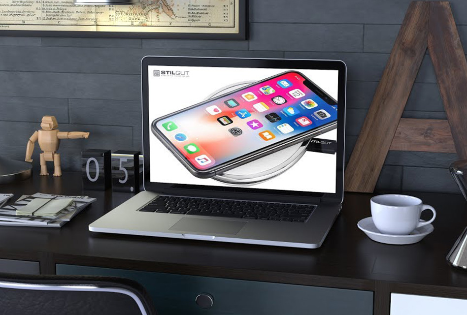 Gadgets-Unboxing – StilGut Wireless Charger – Qi-Ladegerät für iPhone und Android Smartphones