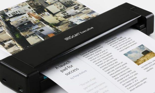 Review: IRIScan Executive 4 – Portabler Duplex-Farbscanner mit OCR-Software & weiteren Features