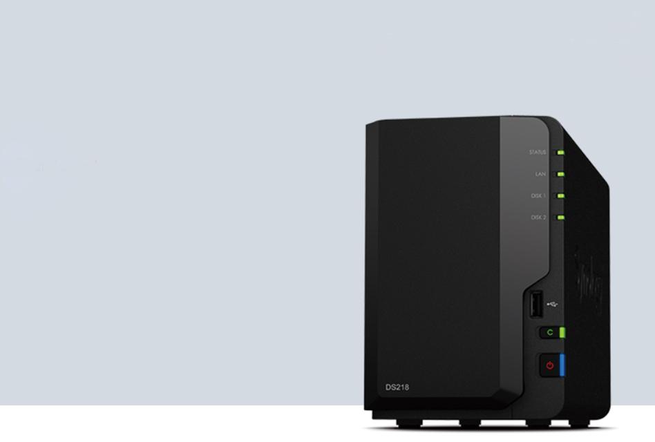 Review: Synology DS218 – Flottes Multimedia-NAS fürs Wohnzimmer