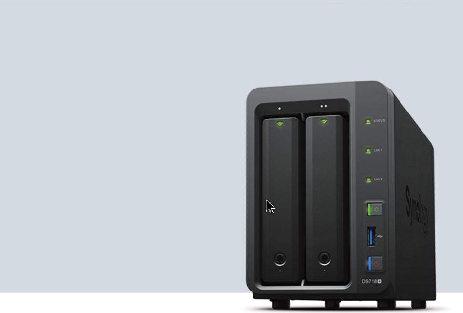 Review: Synology DS718+ – Performantes NAS für den Heimkino- und Businessbereich