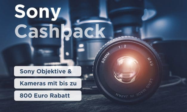 Cashback 2020 – Bis zu 800 Euro bei Sony sparen