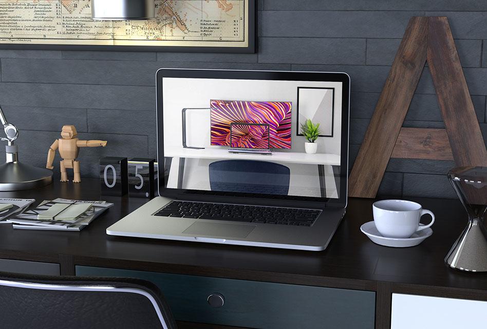 Gadgets-Unboxing: Linedock 13″ – MacBook-Dockingstation mit integriertem Akku & SSD