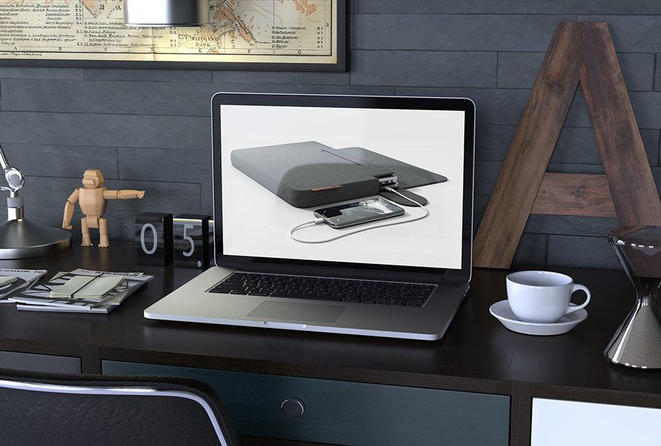 Gadgets-Unboxing: Linedock Linesleeve 13″ – MacBook-Tasche
