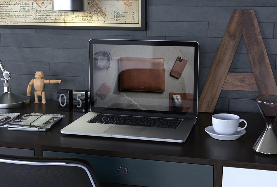 Gadgets-Unboxing: Nomad Leder-Sleeve für das MacBook
